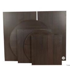 Wenge Durolight Table Top 68cm X 68cm